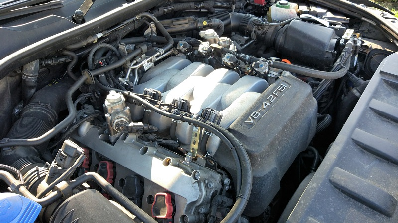 FSI na LPG - wtrysk bezpośredni Audi 4.2 FSI z instalacją STAG 400 DPI
